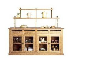 Maison Strosser - le grand dressoir - Kitchen Sideboard