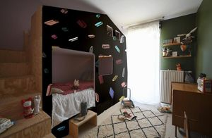 Bien Fait - carlton black - Children's Wallpaper