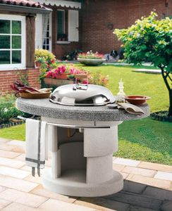 Palazzetti -  - Charcoal Barbecue