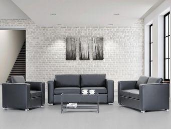 BELIANI - canapés en cuir - Living Room