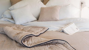 Couleur Chanvre -  - Quilted Blanket