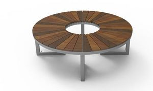 Maglin Site Furniture - ogden layt - Circular Tree Bench