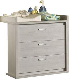 COMFORIUM - commode à langer coloris chêne gris doux - Nursery Table