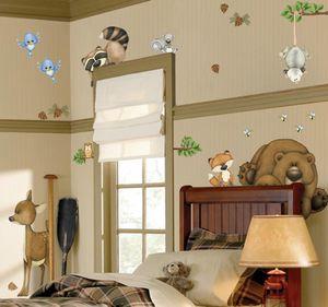 BORDERS UNLIMITED - stickers enfant dans les bois - Children's Decorative Sticker