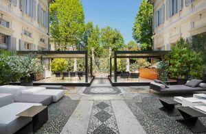 Living Divani -  - Garden Ottoman
