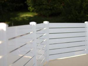 LA CLÔTURE FRANÇAISE - achille 10 - Fence With An Openwork Design
