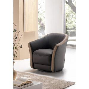 Bardi - cabriolet en cuir corona - Cabriolet Chair