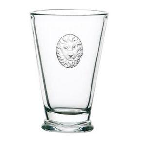 La Rochere - symbolic lion - Soft Drink Glass