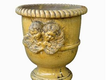 TERRES D'ALBINE - vase languedocien- - Garden Pot