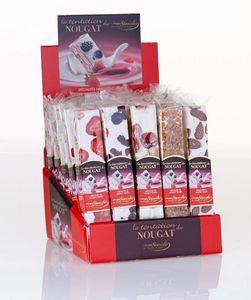 LES  NOUGATS STANISLAS - presentoir barres de nougat assorties - Sweets