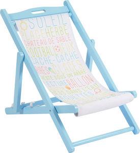 Amadeus - transat pour enfant peps bleu - Children's Armchair