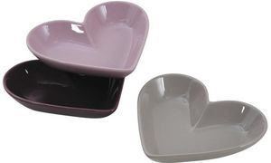 Aubry-Gaspard - ravier coeur en céramique (lot de 3) - Ramekin