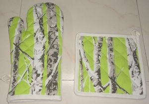 ITI  - Indian Textile Innovation - bamboo trees - Oven Glove