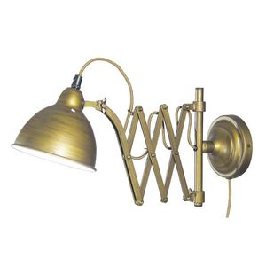 Marineshop - golden - Extensible Wall Lamp