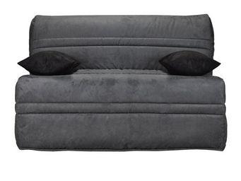 WHITE LABEL - banquette-lit bz matelas bultex 140 cm - speed neo - Reclining Sofa