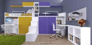 Cia International - set 225 - Mezzanine Bed Child