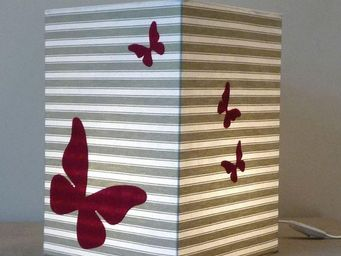 Voila Ma Maison - toile à matelas - Children's Table Lamp