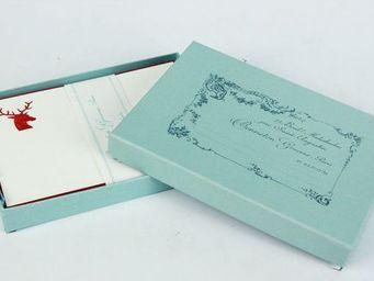 Benneton - cerf rouge - Correspondence Box