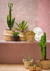 CUIR AU CARRE - mexicano- - Wall Covering