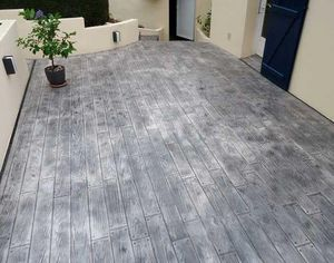 MODERNE METHODE - impprimé - Ground Waxed Concrete