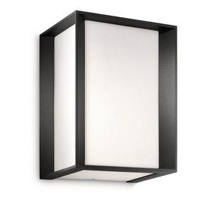 Philips - applique cube extérieur skies h21 cm ip44 - Outdoor Wall Lamp