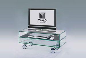 Marais International - table télé en verre - Media Unit