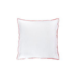BLANC CERISE - drap housse - percale (80 fils/cm²) - uni moka - Cushion Cover
