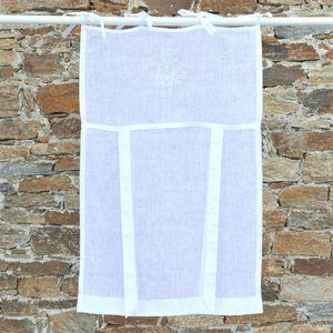 MAISON D'ETE - store marseille blanc - Net Curtain