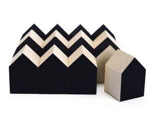 CINQPOINTS - archiblocks house black - Building Set