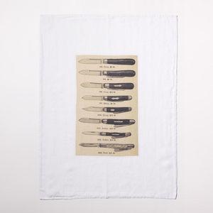 Série Limitée Louise - les couteaux  - Tea Towel
