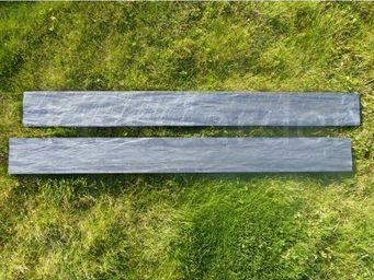 CLASSGARDEN - bordure piquet d'ardoise scie 1 mètre - Lawn Edging