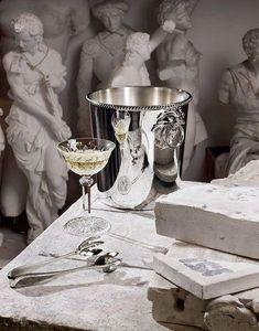 Ercuis - perles - Champagne Bucket