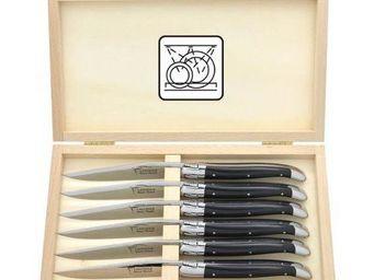 La Coutellerie De Laguiole Honoré Durand - -coffret - Table Knife