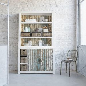 BOIS DESSUS BOIS DESSOUS - vaisselier en bois de pin recyclé 125 atlantic - China Cabinet