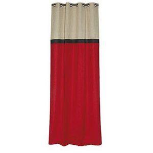 Novabresse - rouge dedicace - Eyelet Curtain