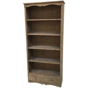 CHEMIN DE CAMPAGNE - style ancienne grande bibliothèque armoire bahut m - Bookcase
