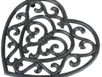 CHEMIN DE CAMPAGNE - dessous de plat repose plat cour en fonte - Plate Coaster