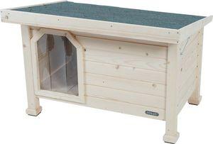 ZOLUX - niche en bois à toit plat large - Kennel