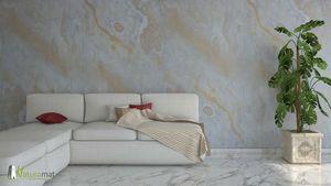 NATURAMAT - designflex sanjeevani white - Stone Leaf