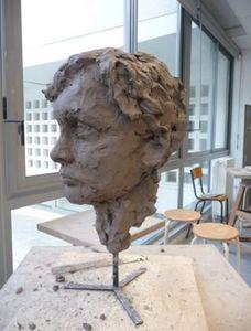 ANNA BOROWSKI -  - Bust Sculpture