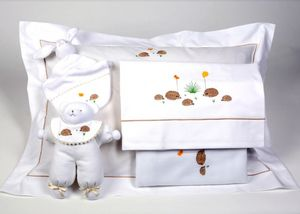 Noel - hérisson - Baby's Bed Linen Set
