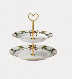 Royal Copenhagen -  - Tiered Tray