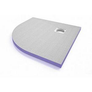 JACKON INSULATION - bac de douche aqua quart de cercle 900x900x40 (4512122) + siphon vertical (4512007) - Others Various Bathroom Items