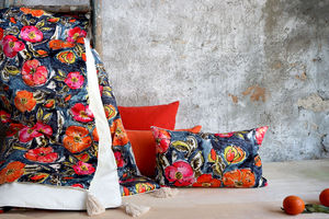 LALIE DESIGN - poppies - Fabric By The Metre