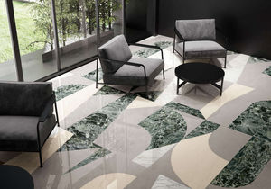 SURFACE - monolkithe decot verde - Floor Tile