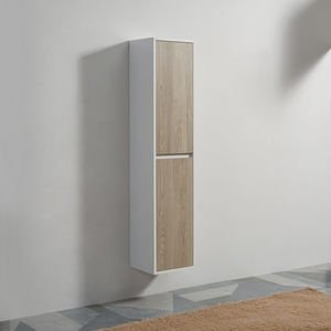 Rue du Bain -  - Bathroom Double Storage Cabinet