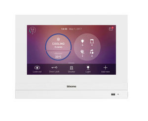 Home automation touch-screen