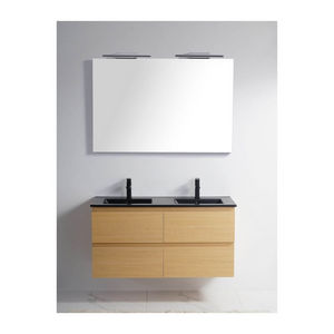 Rue du Bain - meuble double-vasque 1434908 - Double Basin Unit