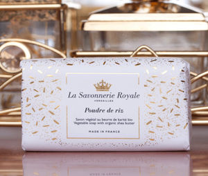 LA SAVONNERIE ROYALE - -poudre de riz - Bathroom Soap