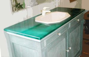 COULEURS DE CRATERES -  - Washbasin Unit